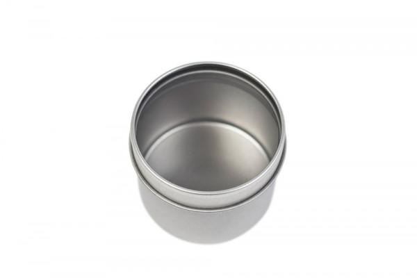 Boîte métallique ronde